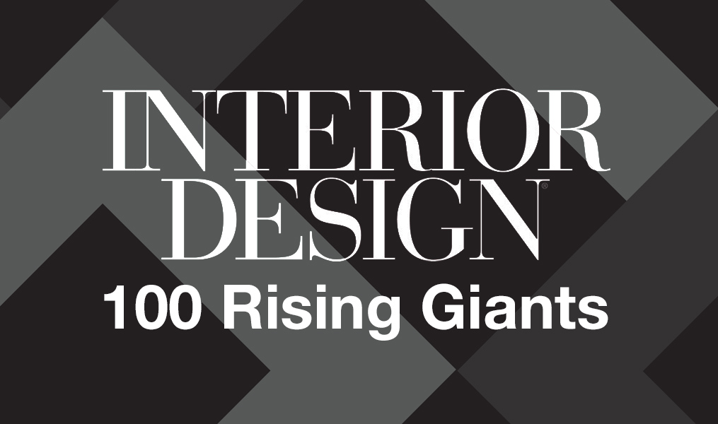 The Interior Design logo on textured background