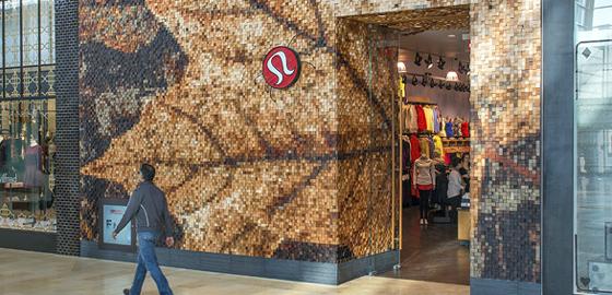 Storefront at Lululemon Yorkdale
