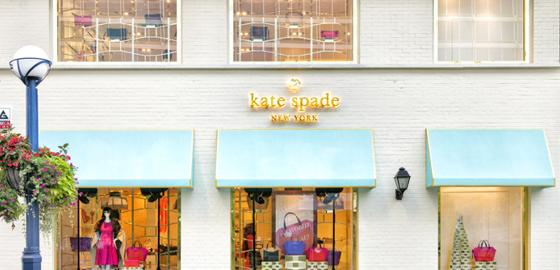 Storefront at Kate Spade