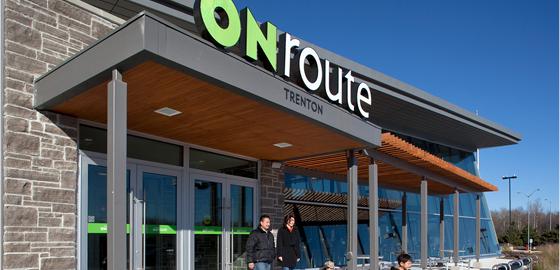 Entrance to Onroute Trenton