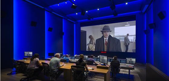 Media editing studio