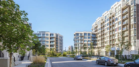 Condos in Downtown Markham