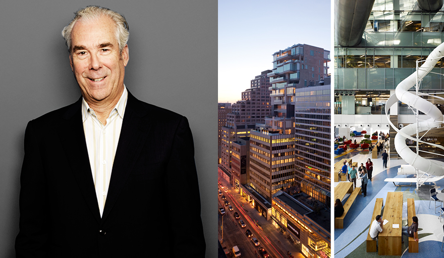 photo of Brian Curtner, 130 Bloor and Corus Entertainment