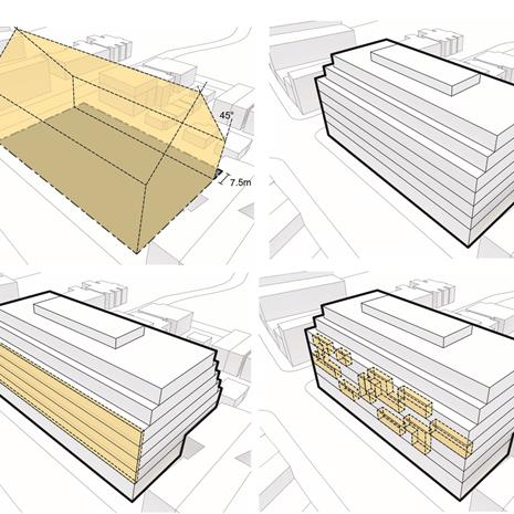 CAD building form