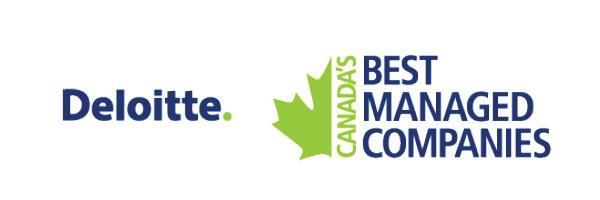 Deloitte's 50 Best Managed Companies Award
