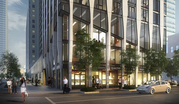 Street level retail at 700 Bay Street