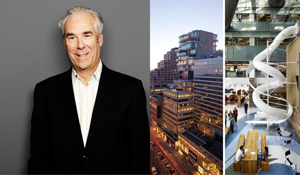 photo of Brian Curtner, 130 Bloor, and Corus Quay
