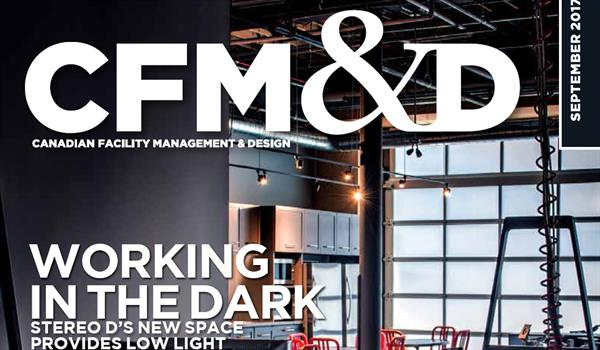 Cover of the September 2017 issue of CFM&D, featuring Stereo D