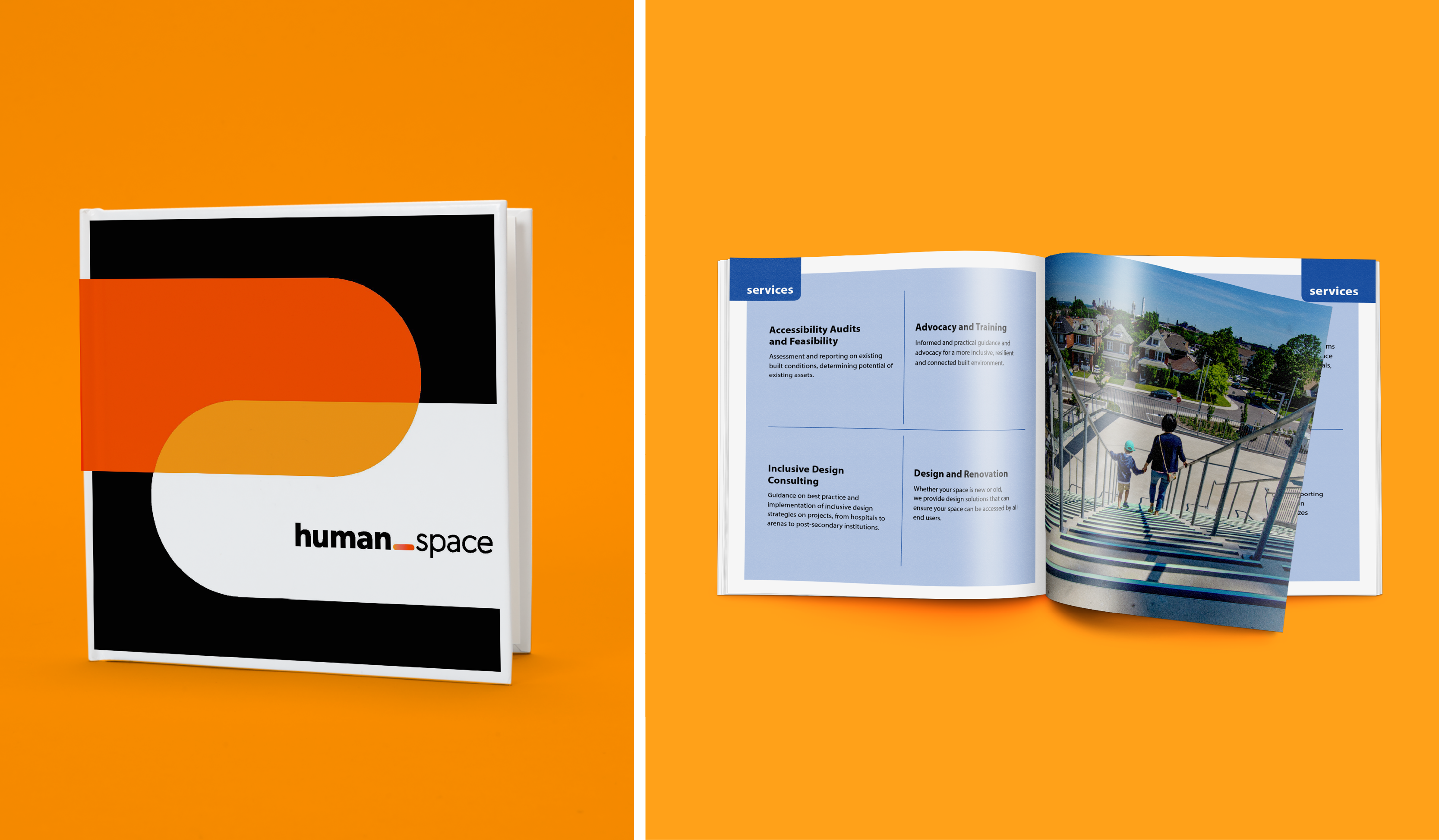 the Human Space brochure
