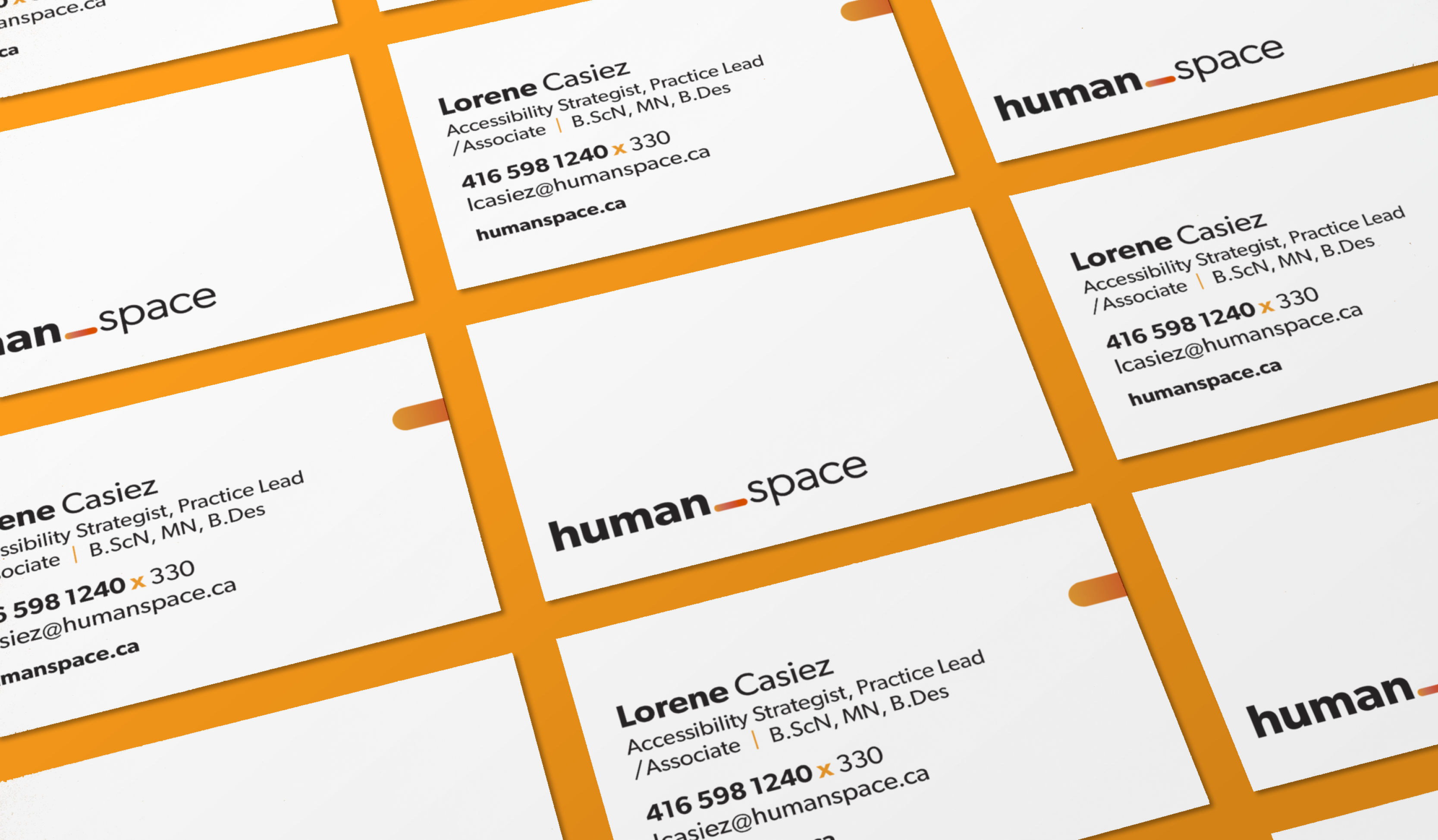 Human Space business cards