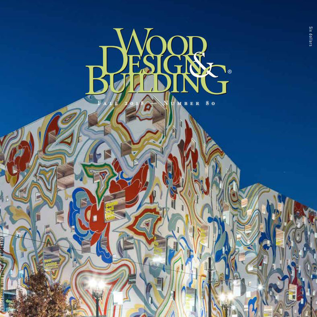 cover of Wood Design & Building magazine