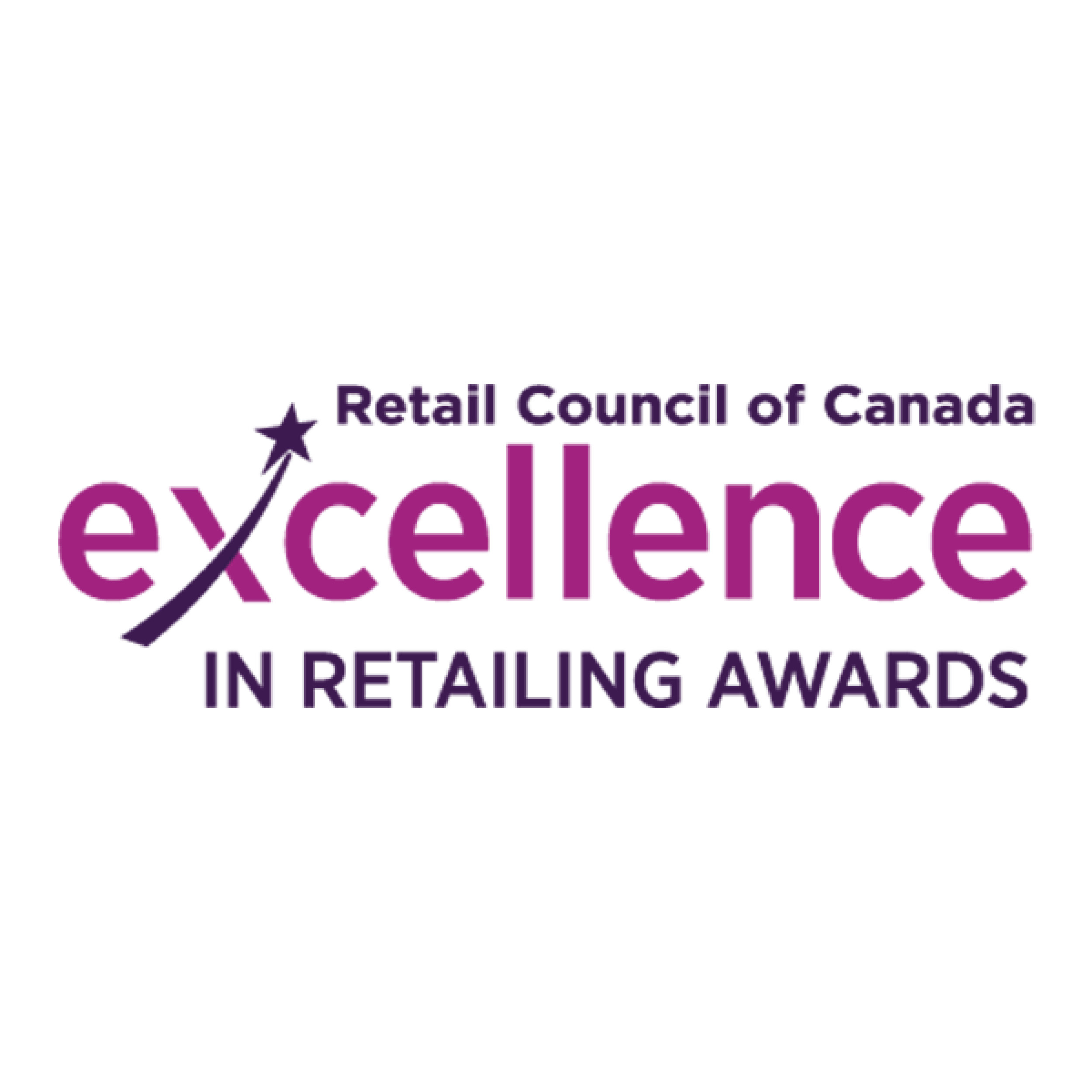 logo for the Retail Council of Canada Excellence in Retailing Awards 2018
