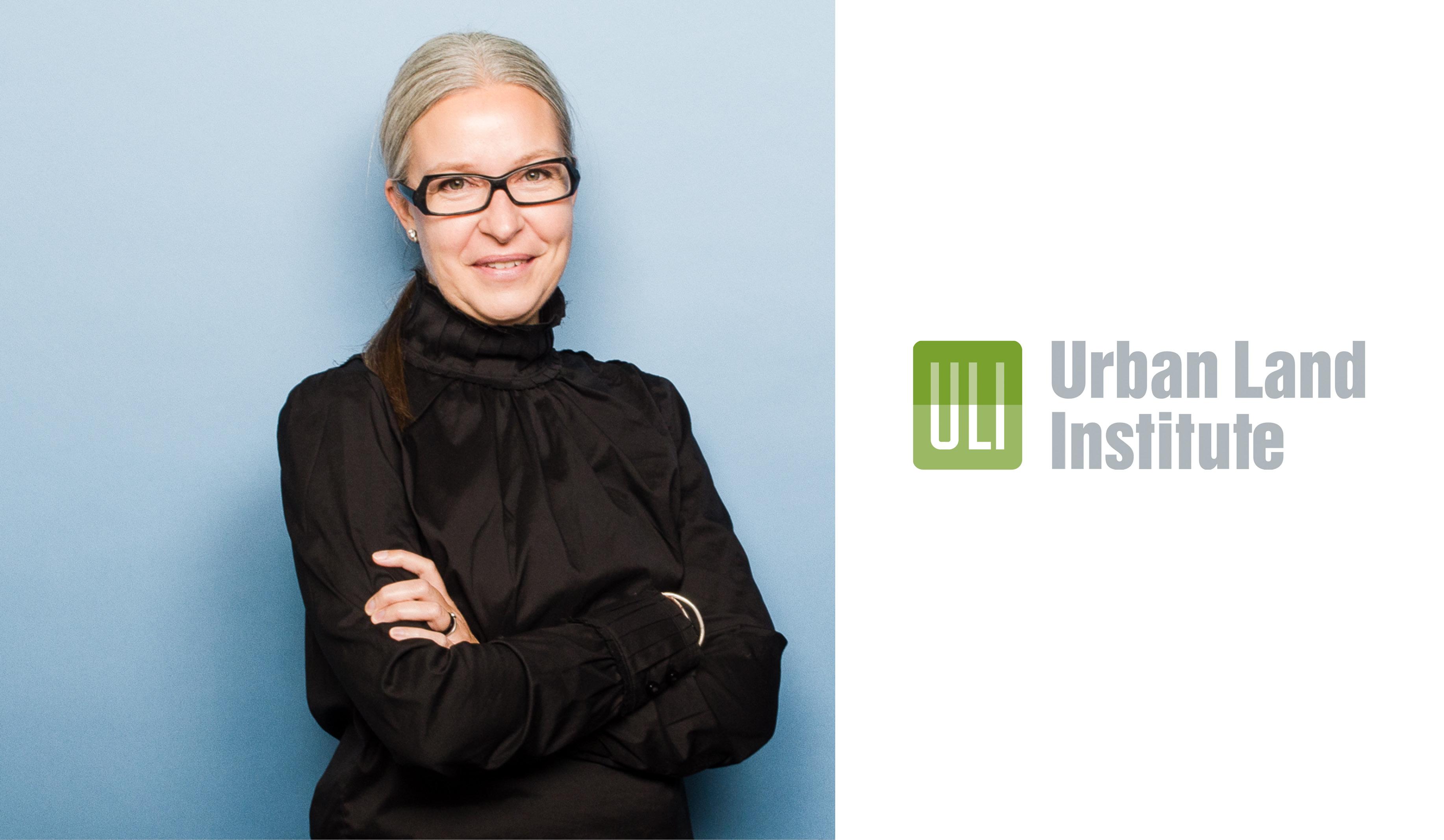 photo of Heather Rolleston beside the ULI logo