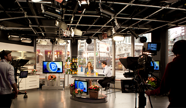 cameras recording an episode of Breakfast Television