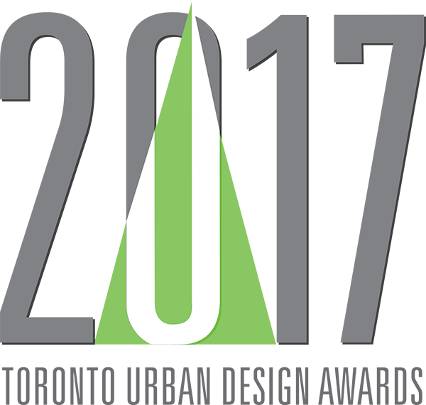 logo of the 2017 Toronto Urban Design Awards