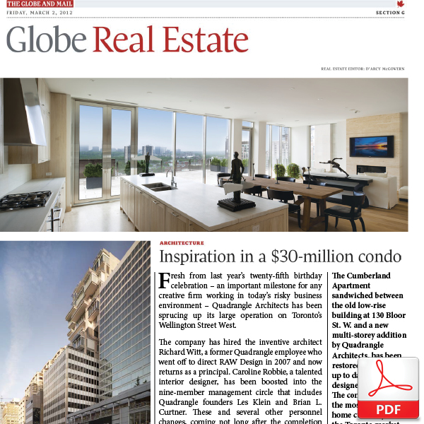 Inspiration in a $30-million condo