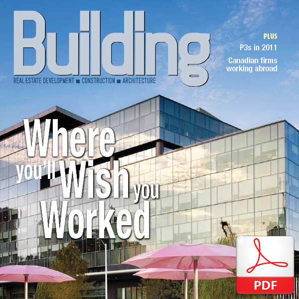 'The future has arrived,' Building Magazine