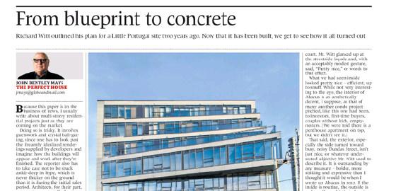 From blueprint to concrete