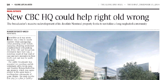 New CBC HQ could help right old wrong