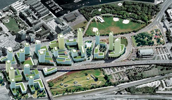 Rendering of Fort York Master Plan