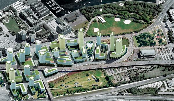Rendering of Fort York Master Plan