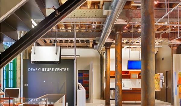 Reception at Deaf Culture Centre