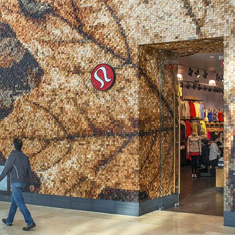 Store front for Lululemon Yorkdale
