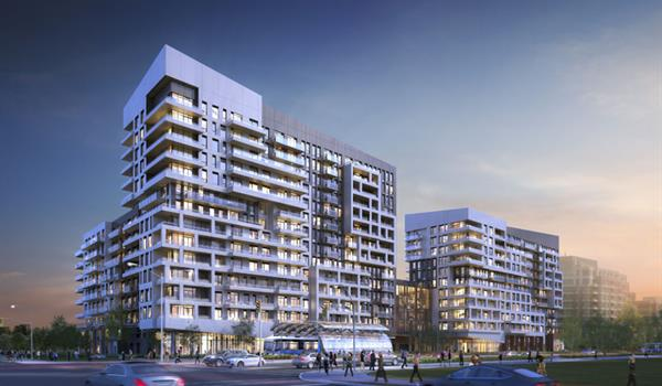 Rendering of York Condos